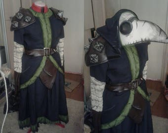 Plague Doctor from Darkest Dungeon cosplay game costume
