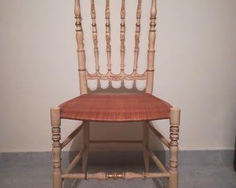 Chiavari Chair mid Twenty century-Chiavari Parisian chair mid-twentieth century