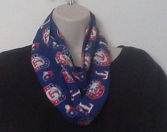 Texas Rangers Infinty Style Scarf