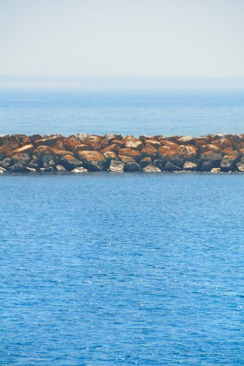 Water Photo Breakwater Mackinac Island Lake Huron image 0