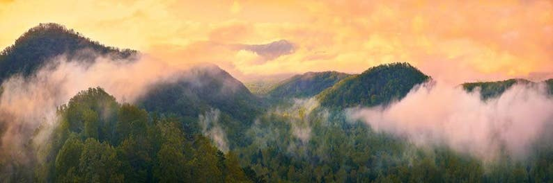 Sunrise Photo Great Smoky Mountains National Park Landscape image 0