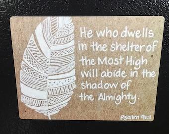 Beautiful Scripture Magnet