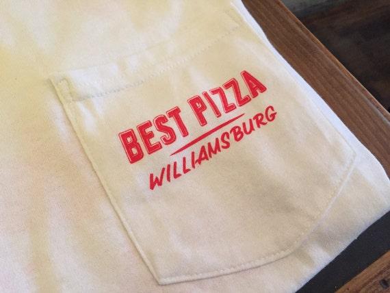 Pepperoni Pizza Time Clock Black Adult T-Shirt