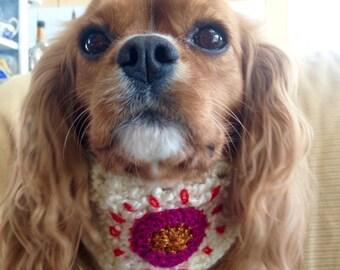 Dog Neckband/Snood/Headband with Sunshine- Made to your Measurements!