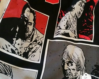 Drawstring backpacks, Walking dead, zombie