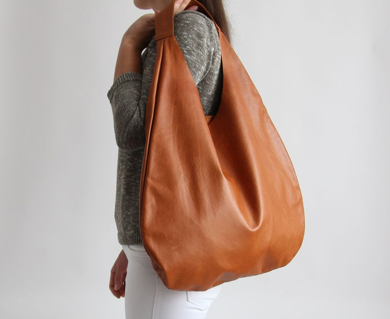 7b80d182bf CAMEL LEATHER HOBO bag Camel Handbag for Women Camel