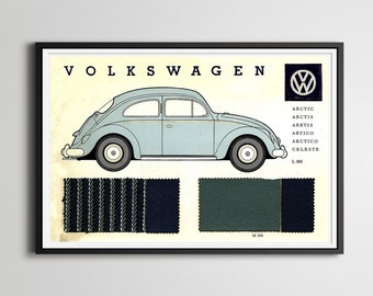 Artwork Posters - Manual Karmann Ghia How To Keep Your VOLKSWAGEN ...