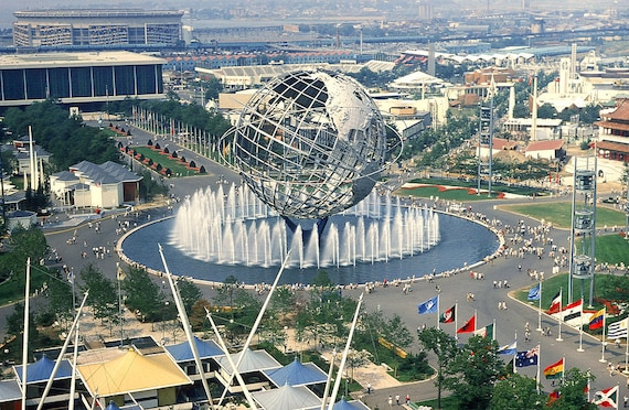 1964 New York World\'s Fair MAP POSTER Full-size 24 | Etsy