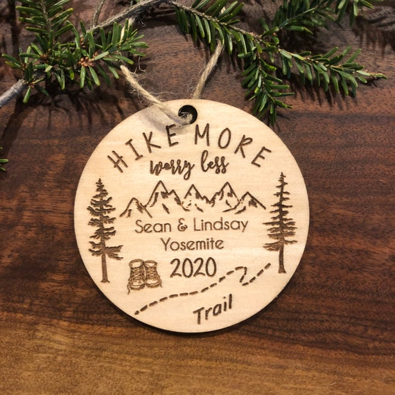 Hiking ornament Gifts for hiking Hikers Gift Outdoors