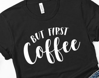 308228fb5 Ok But First Coffee Shirt Mom Life Funny Brunch Gym Workout Tank Top  Caffeine Lover Quote Tee Short-Sleeve Unisex T-Shirt Gift For Here