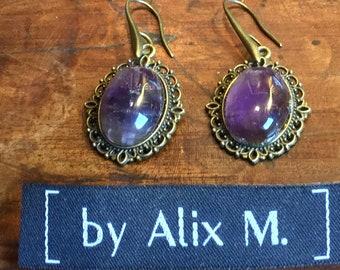 Vintage Amethyst earrings