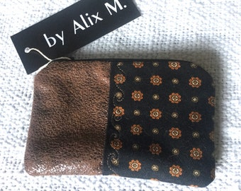 Chic English-style men's wallet!