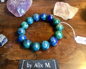 Bracelet en Azurite Malachite