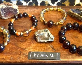Bracelets  en Ambre d'Indonésie
