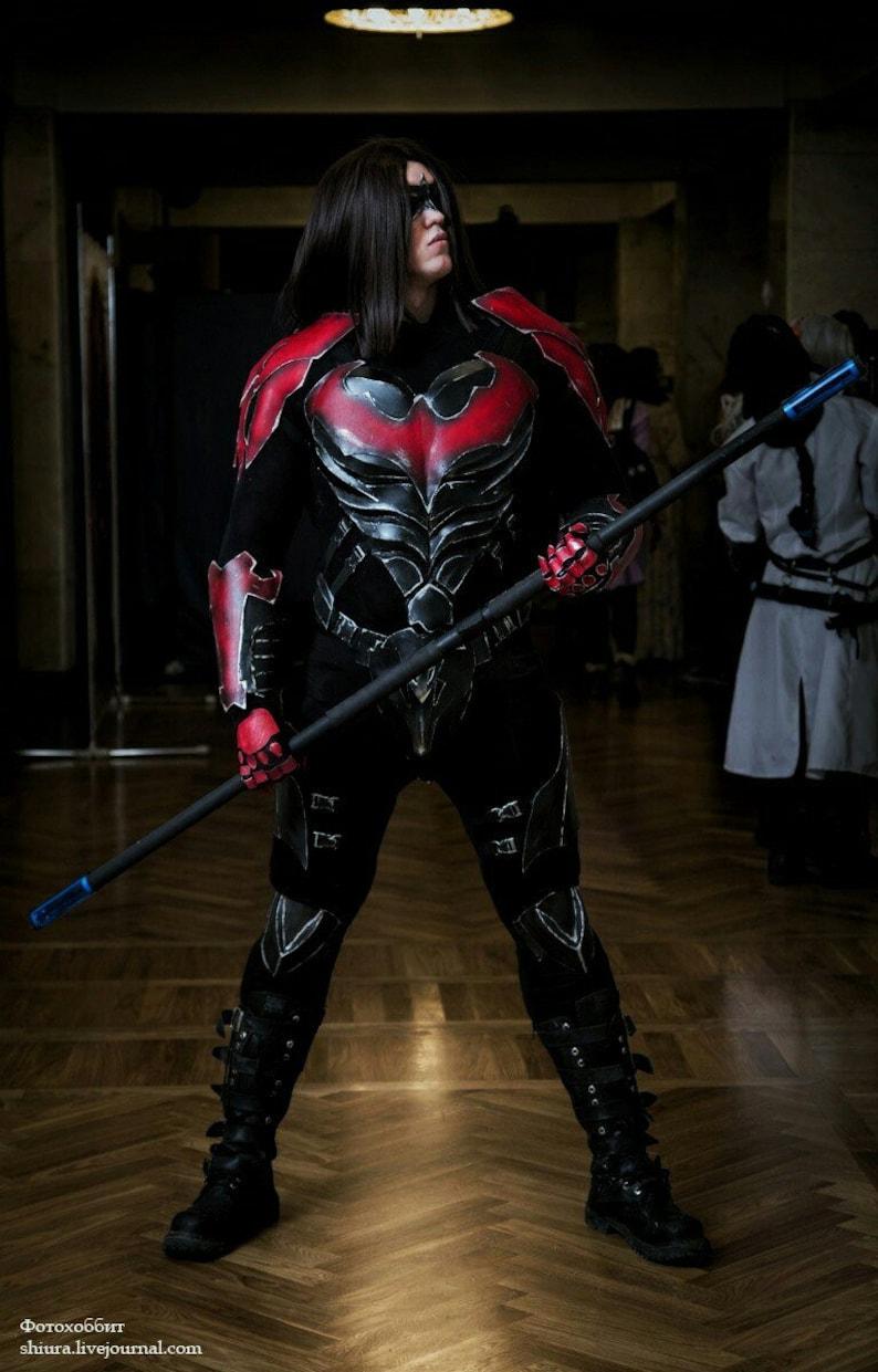 Nightwing costume injustice Damian Wayne dc comics Dick | Etsy