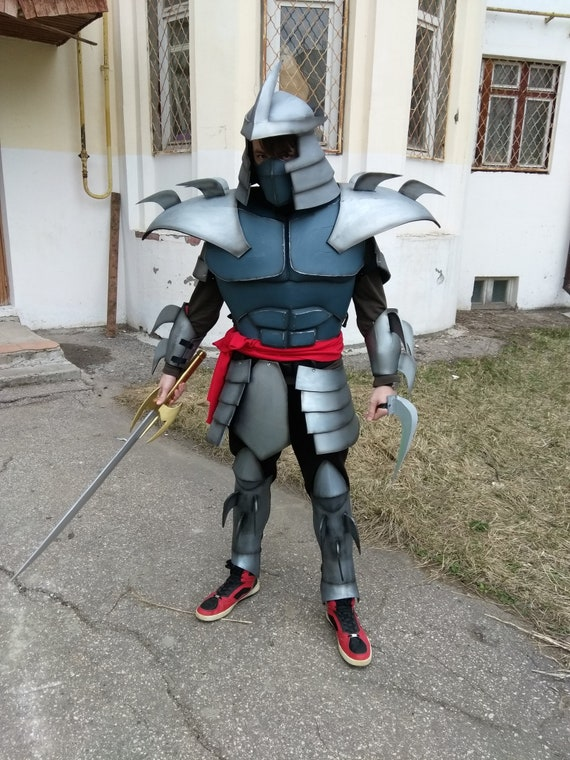 Shredder Tmnt Cosplay Costume Complete Made To Order Etsy