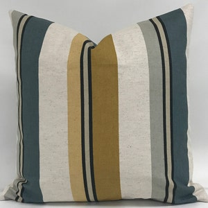 Striped Pillow at | Sewing
