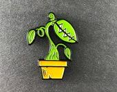 Carnivorous Plant Enameled Pin, Pitcher Plant, Venus Flytrap, Audrey II, Lapel Pin,  Garden Lover, Tropical Plant, Monster Plant, Sundew