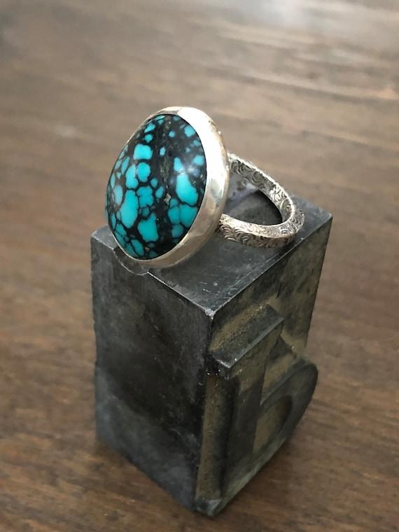 Handmade Turquoise Ring