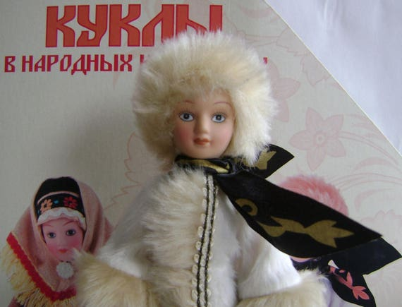 Winter suit #9 Girl from Russia Moscow province Porcelain doll