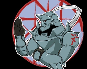 Full Metal Alchemist Alphonse Sticker