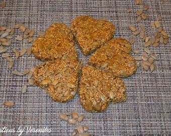 Gozinaki! Caramelized Sunflower and Sesame seeds sweet treat- 12 Fresh & Delicious treats