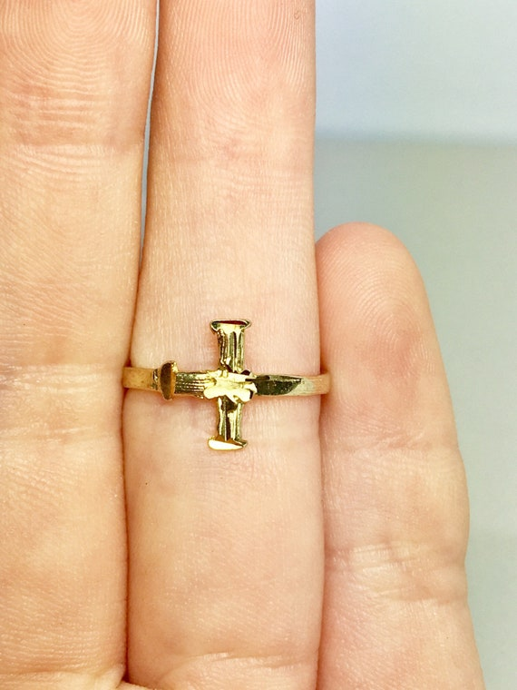 10k Solid Gold Baby Rings - Gold Baby Jewelry - Go
