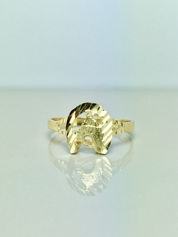 14k Solid Gold Baby Rings - Gold Pinky Rings - Gol
