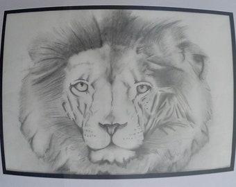 Art Print | Lion print | Wall Art