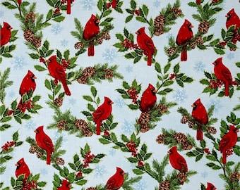 Holly Jolly Christmas - Cardinal Blue
