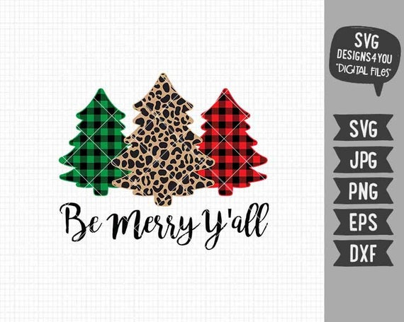 Christmas SVG Merry Christmas SVG Holiday Cut Files Cookie SVG Digital Files in svg eps dxf png jpg