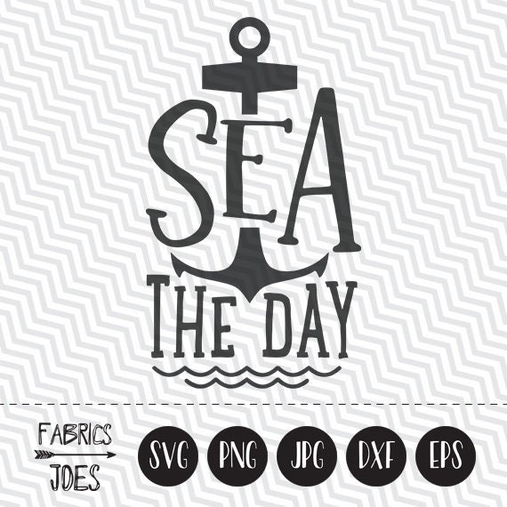 Seas The Day Svg Vacation Svg Vacay Svg Beach Svg Clipart In