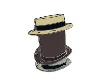 "Team Fortress 2 inspired 'Towering Pillar of Hats"" hard enamel lapel pin badge"