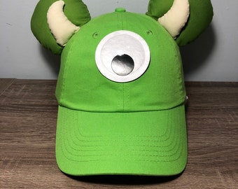Mike Wazowski inspired ear hat  b3c6381b46c9