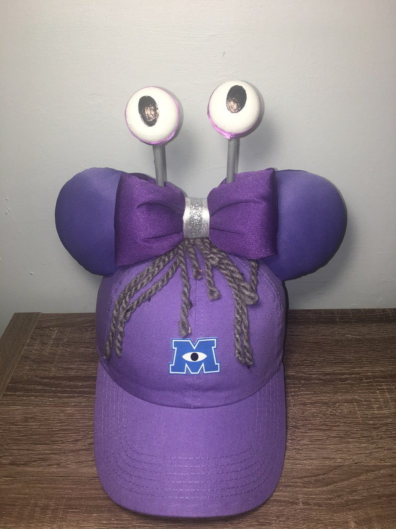 9e2e8d83e Boo Monsters Inc Ear Hat Monsters Inc hat Pixar | Etsy