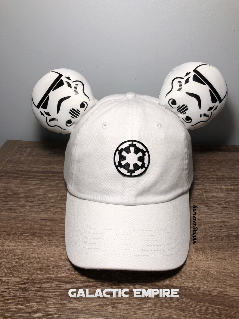 042d367677f8b Stormtrooper inspired ear hat Star Wars hat Stormtrooper