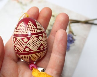 Ukrainian Egg unique egg. Holidays. Ukrainian Easter Egg. red. Pysanky Egg. russian egg. Pysanka