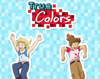 True Colors Sticker Set