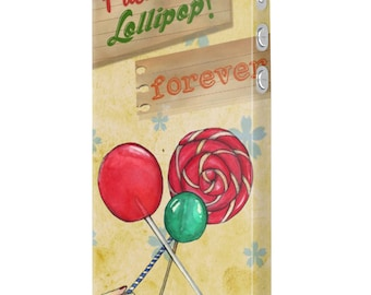 Lolipop friends forever design case cover for iPhone 7 6 5 Plus , Samsung S6 S7  Edge mobile phones