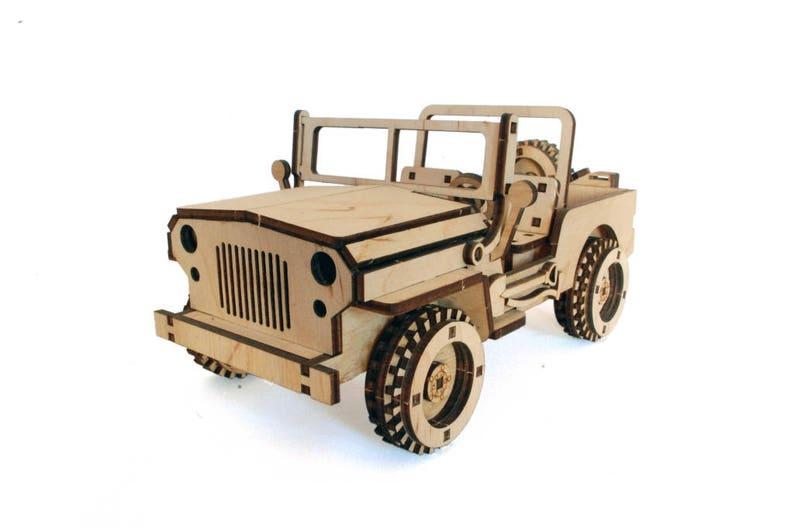 Kit Toy Madera Outback Auto Coche 3d Del Jeep ConstrucciónConstructor Juguetes Construction Corte Laser Modelo Juego Rompecabezas De xdCQBeroW