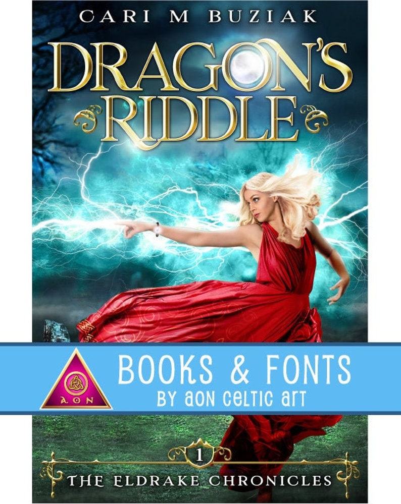 Dragon's Riddle FANTASY eBook   336 pages  Irish  image 0