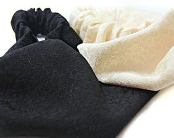 Cherry blossom  / Japanese Fabric / Japanese headband / Elegant headband / Adult headband / Fancy headband / Sakura / Wide fabric headband