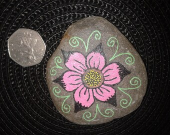 Hand Decorated Beach Pebble