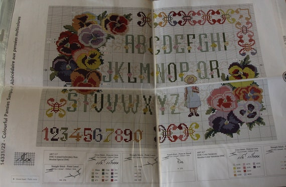 Kit ou diagramme County Durham carte /& drapeau cross stitch Design