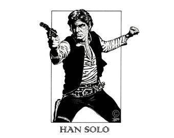 Han Solo Prints