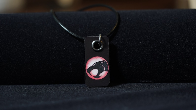 Thundercats Necklace Handmade pen drawing jewellery for him or for her movie small gift