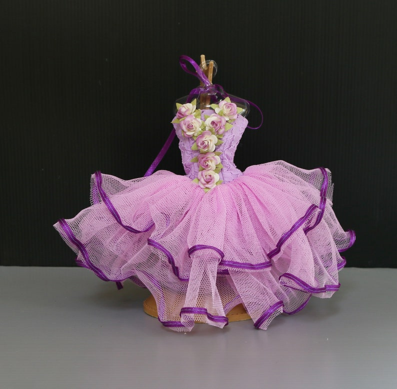 """Doll Clothing 12/"""" Dress up Purple Ballet Dancer Outfit Tutu Costumes for Barbie"""