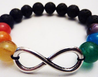 LGBT The 100 Commander Lexa Infinity Bracelet