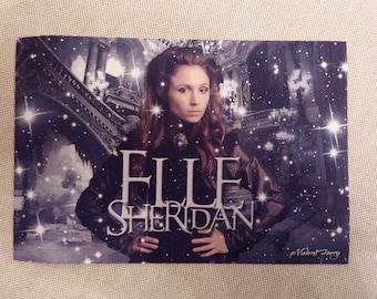 Elle Sheridan, Carmilla movie, 10x15 cm self-adhesive sticker