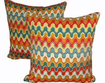 Pillow Covers / Throw Pillow Covers / Chevron Pillows / Accent Pillow Covers / Indoor Outdoor Pillow Cover / Decorative Throw Pillow Covers